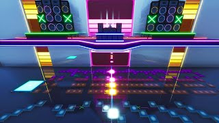 Fortnite Creative: Marshmello - Chasing Colors - Music Blocks - 7046-0552-9987
