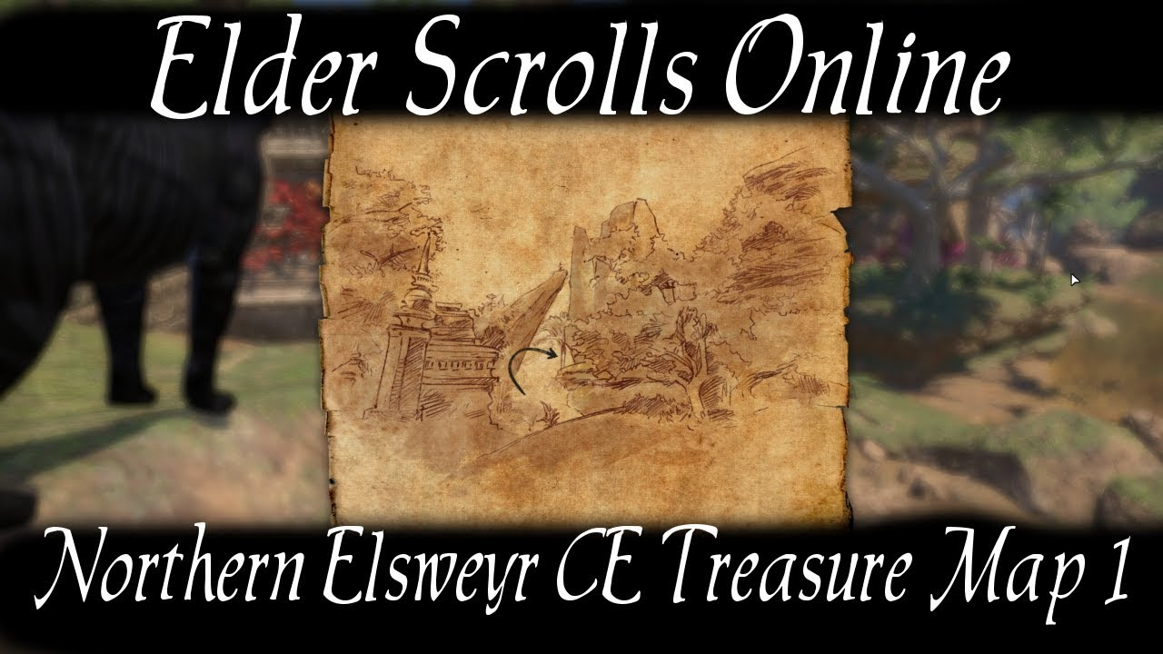 Northern Elsweyr CE Treasure Map 1 [Elder Scrolls Online] ESO