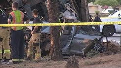 1 dead, 5 injured in west Phoenix crash involving dump truck