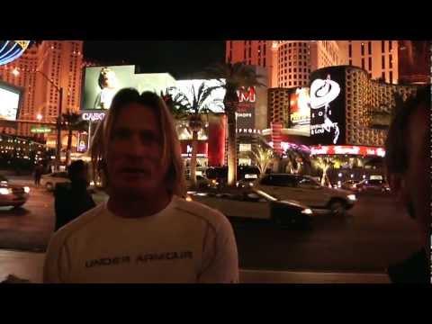 Brett Harrelson outside The Bellagio Hotel, Las Vegas 1