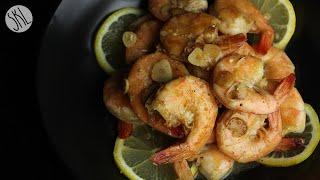 1 Minute Recipe   Lemon Garlic Butter Shrimp