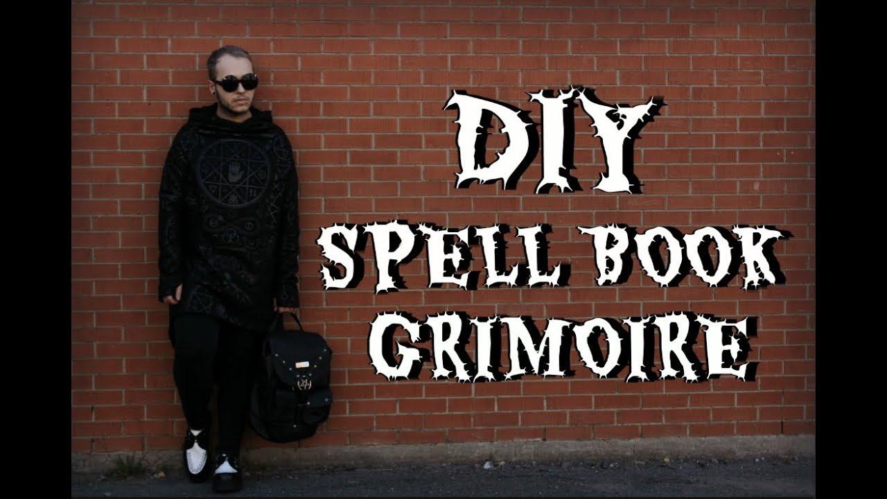 Diy Spell Book Grimoire De Sorciere Hallowctober