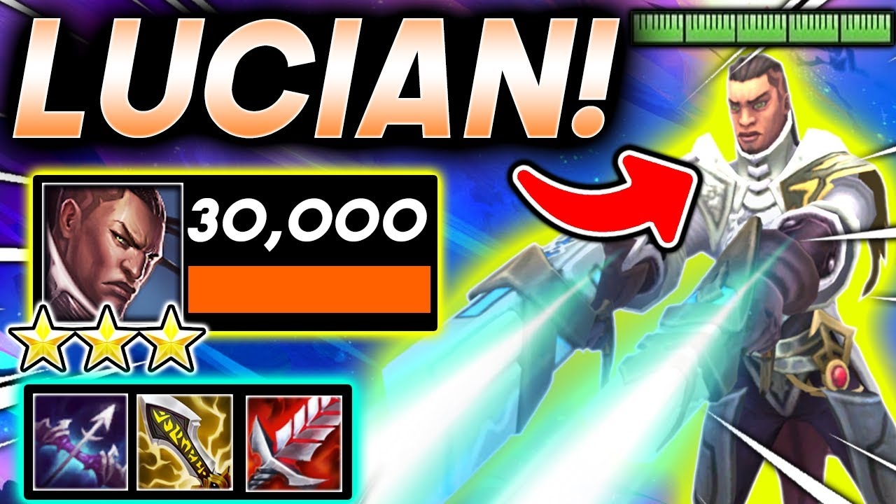 *30,000 DMG ⭐⭐⭐ LUCIAN!* - TFT SET 5.5 Guide I Teamfight Tactics 11.15 Patch Comps Ranked Strategy