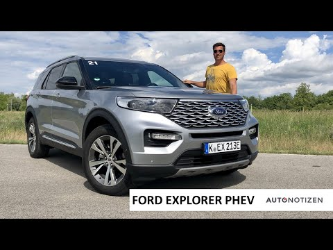 Ford Explorer Plug-in-Hybrid 2020 (457 PS): SUV im Review, Test, Fahrbericht