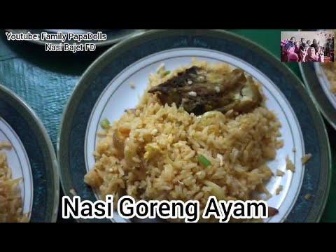 Nasi Goreng Ayam By Papadolls Youtube