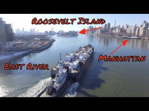 Drone Footage Randalls Island 4k