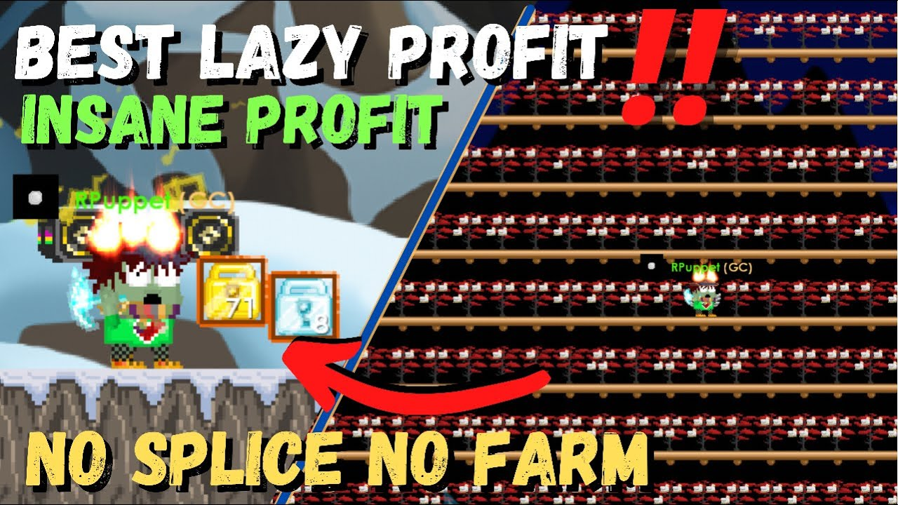 Download BEST CHICKEN LAZY PROFIT in GROWTOPIA‼️ [No Splice - No Farm] - 100% PROFIT GROWTOPIA PROFIT 2021