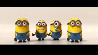 Minions sing Happy birthday song ^_^