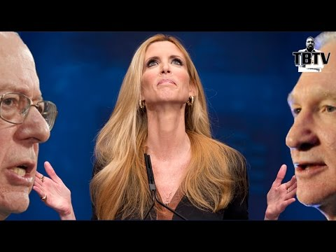 Bernie Sanders, Bill Maher Defend Ann Coulter Speech