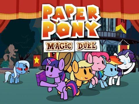 Paper Pony -Magic Duel- (Animation)