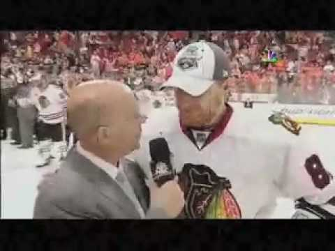 History will be made-Pierre Mcguire (stupid)