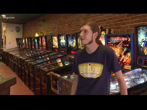 Replay Amusement Arcade museum allows you to play old arcade games in Tarpon Springs