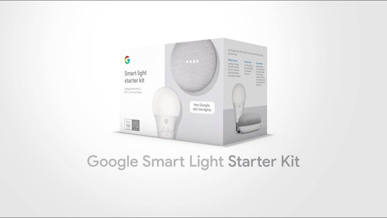 google smart light starter kit youtube. Black Bedroom Furniture Sets. Home Design Ideas
