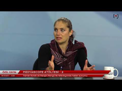 """Medyascope Gazetecilik Atölyesi (3): Nevşin Mengü ile """"Televizyon'da haber sunumu"""""""