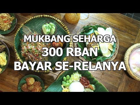 GOKIL MUKBANG SEHARGA 300RBAN BAYAR SE-RELANYA!!! DI WAROENG KALIGARONG SEMARANG