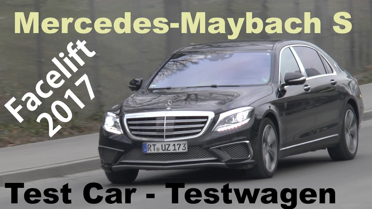 Erlk nig mercedes maybach s klasse s class 2017 first test for Mercedes s klasse interieur