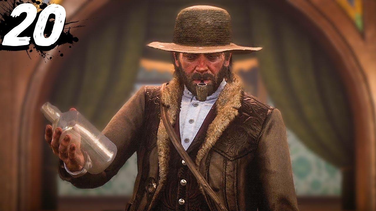 BAR TENDING GONE WRONG - Red Dead Redemption 2 - Part 20