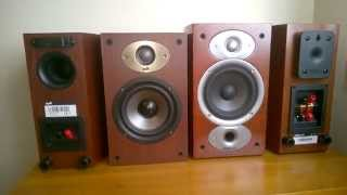 Polk Audio Tsx110b Vs. Rtia1 Bookshelf Speakers Review Whats The Difference Comparison
