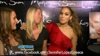 A Surprise for Jennife Lopez's Biggest Fans at Mohegan Sun Concert 22/10/11
