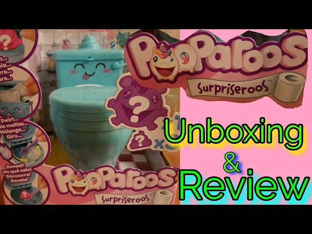 Pooparoos Surpriseroos Unboxing and Review