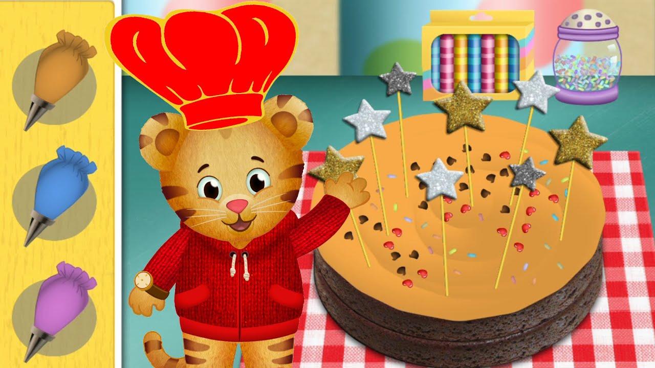 Daniel Tiger S Cake Shop Daniel Tiger Is At The Bakery Lets Help Daniel Buy Cake Littlewonderstv Youtube