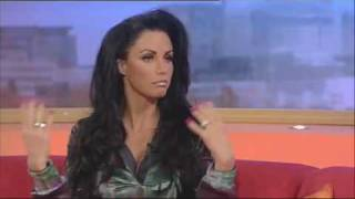 katie price on gmtv about sky news interview since marrying alex