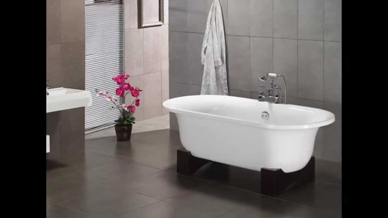 Genial Small Bathroom Designs Ideas With Clawfoot Tubs Shower Picture   YouTube
