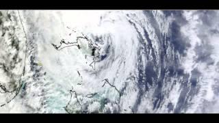 kejuruteraan haarp frankenstorm taufan sandy ditangkap pada satelit dan radar