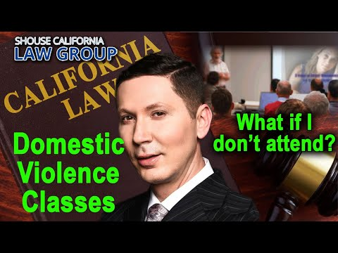 Domestic violence classes - What are they and what happens if I don't attend?
