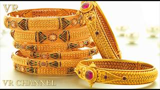 LATEST GOLD BANGLES DESIGNS With Weight | Gold kada designs | Latest Gold jewellery design | Indian