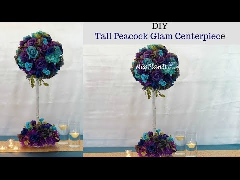 diy-tall-peacock-blossom-tree-wedding-centerpiece-|-tall-glam-centerpiece-|-diy-tutorial
