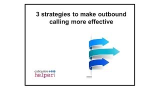 Webinar replay  3 strategies to make outbound calling more effective