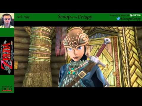 Zelda: Twilight Princess (Wii U) - 33 - Finding Fishing Hole - Mike's Let's Play