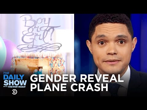 Gender Reveal Plane Crash & Valentine's Day Texting Glitch | The Daily Show