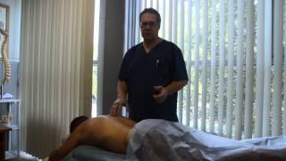 Рефлекторный массаж при сколиозе позвоночника