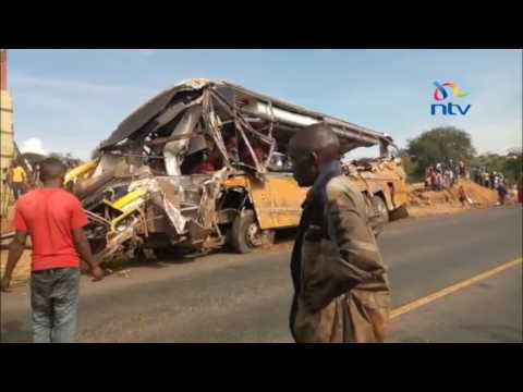 26 people killed, several others injured in accident in Kambu, Makueni