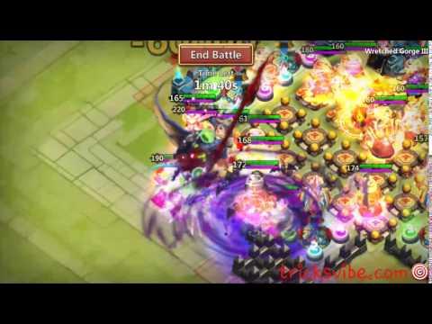 Castle Clash The Epic Slowdown In WG3 Or Team HBM