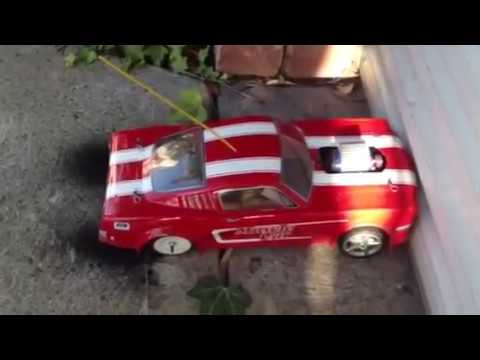 Rc Muscle Car Burnout Youtube