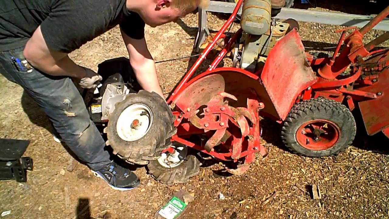 Garden Tiller Wheels : Tine seal replacement troy bilt tiller doovi