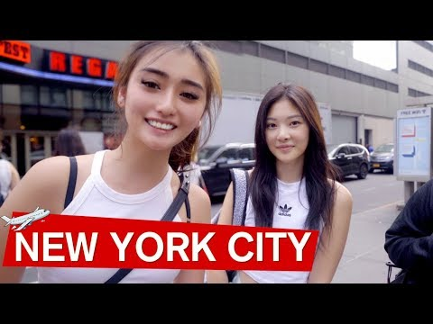 Our First Time In New York City!