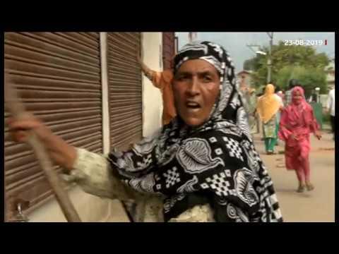 کشمیر: مظاہروں کی نئی فوٹیج منظرعام پر