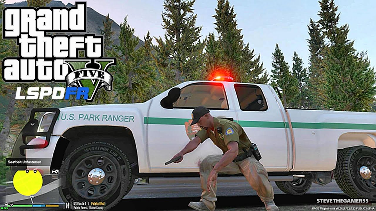 GTA 5 LSPDFR 0.3.1 - EPiSODE 38 - LET'S BE COPS - PARK ...