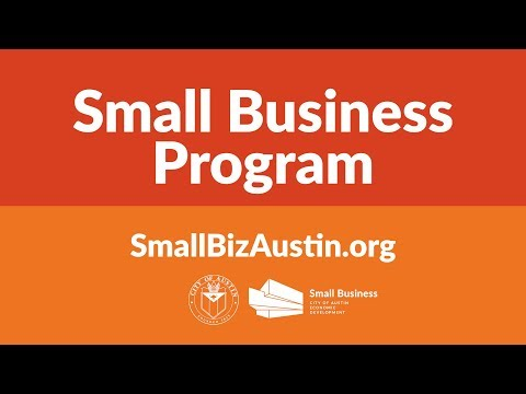 City of Austin Small Business Help