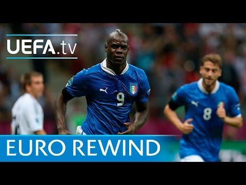 EURO 2012 highlights: Italy 2-1 Germany