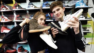 SNEAKER SHOPPING WITH MY SISTER!! PART 2