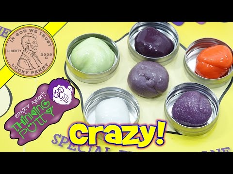Crazy Aaron's Mixed By Me Thinking Putty Kit - Glow In The Dark