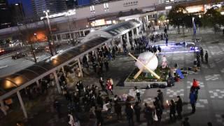 2017.02.12JAEPO×闘会議2017①⓪松山あおい@海浜幕張駅前.
