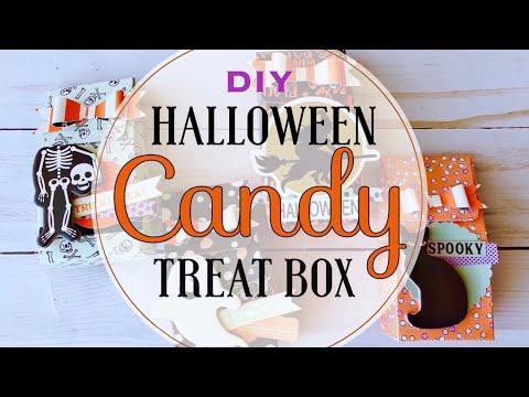 DIY Halloween Candy Treat Box
