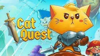 КОПАТЬ МОЙ ЛОТОК, ЭТО ЖЕ ДОВАКОТ  Cat Quest 1 Прохождение