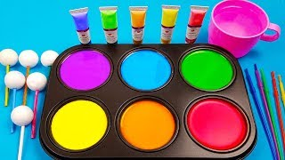 satisfying paint mixing